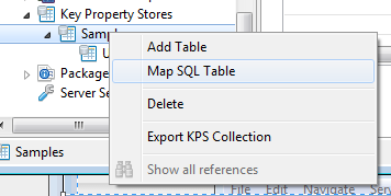 Map SQL Table